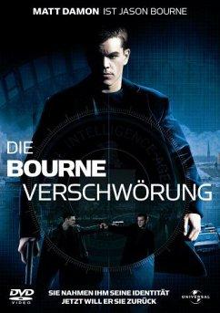 Die Bourne Verschwörung, DVD - Matt Damon,Franka Potente,Julia Stiles,Brian Cox