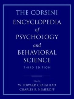 The Corsini Encyclopedia of Psychology and Behavioral Science, 4 Volume Set - Craighead, W. Edward