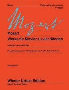 Werke für Klavier zu vier Händen - Mozart, Wolfgang Amadeus