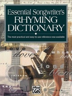Essential Songwriters Rhyming Dictionary