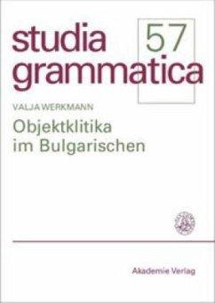 Objektklitika im Bulgarischen - Werkmann, Valja
