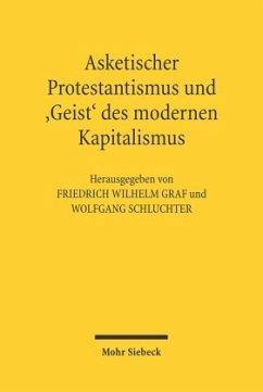 Asketischer Protestantismus und Geist des modernen Kapitalismus - Graf Friedrich W. / Schluchter, Wolfgang (Hgg.)