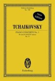 Klavierkonzert Nr.1 b-Moll op.23 CW 53, Partitur