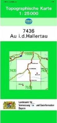 Landesamt Für Digitalisierung, Vermessung Bayern Topographische Karte Bayern Au i. d. Hallertau
