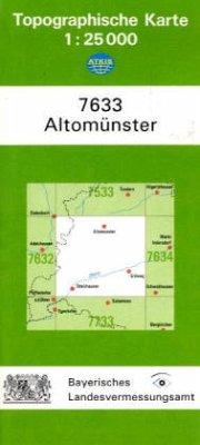 Landesamt Für Digitalisierung, Vermessung Bayern Topographische Karte Bayern Altomünster