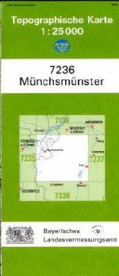 Landesamt Für Digitalisierung, Vermessung Bayern Topographische Karte Bayern Münchsmünster