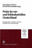 Preise im vor- und frühindustriellen Deutschland