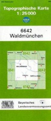 Landesamt Für Digitalisierung, Vermessung Bayern Topographische Karte Bayern Waldmünchen