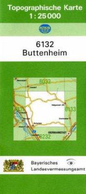Landesamt Für Digitalisierung, Vermessung Bayern Topographische Karte Bayern Buttenheim