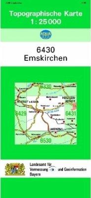 Landesamt Für Digitalisierung, Vermessung Bayern Topographische Karte Bayern Emskirchen
