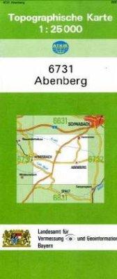 Landesamt Für Digitalisierung, Vermessung Bayern Topographische Karte Bayern Abenberg