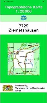 Landesamt Für Digitalisierung, Vermessung Bayern Topographische Karte Bayern Ziemetshausen
