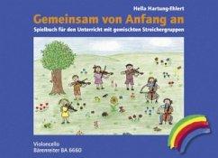 Gemeinsam von Anfang an, Spielbuch Violoncello