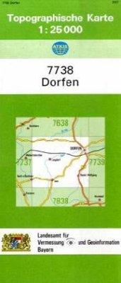 Landesamt Für Digitalisierung, Vermessung Bayern Topographische Karte Bayern Dorfen