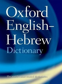 The Oxford English-Hebrew Dictionary - Doniach, N. S. / Kahane, A. (eds.)