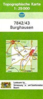 Landesamt Für Digitalisierung, Vermessung Bayern Topographische Karte Bayern Burghausen