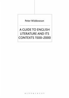 The Palgrave Guide to English Literature and Its Contexts - Widdowson, Peter