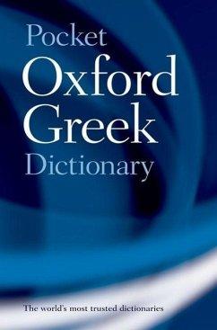 The Pocket Oxford Greek Dictionary - Pring, J.T.