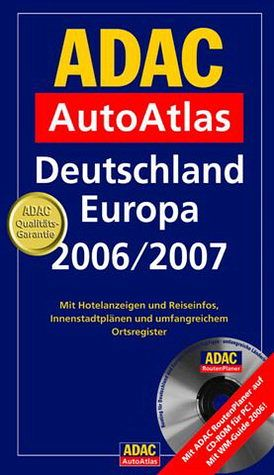 adac autoatlas deutschland europa 2006 2007 m cd rom. Black Bedroom Furniture Sets. Home Design Ideas