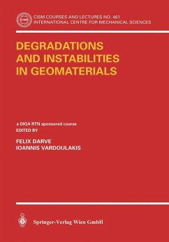 Degradations and Instabilities in Geomaterial - Darve, Félix / Vardoulakis, Ioannis (eds.)