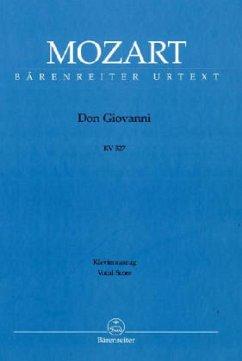 Don Giovanni KV 527, Text Deutsch-Italienisch, Klavierauszug