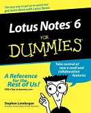 Lotus Notes R6 For Dummies