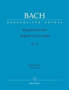 Magnificat D-Dur BWV 243, Klavierauszug
