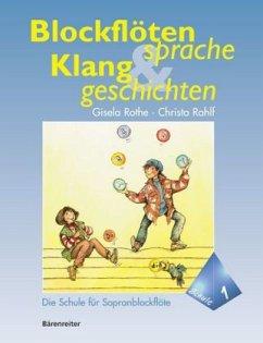 Blockflötensprache und Klanggeschichten, Die Schule für Sopranblockflöte