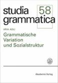 Grammatische Variation und Sozialstruktur