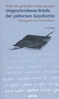 Wenn Du geschrieben hättest, Josephus. Ungeschriebene Briefe der jüdischen Geschichte