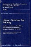 Hoftag - Gemeiner Tag - Reichstag