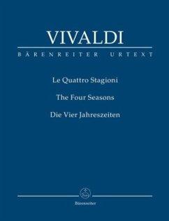 Konzerte für Violine und Streichorchester, Die Jahreszeiten Nr.1-4, op.8, Studienpartitur