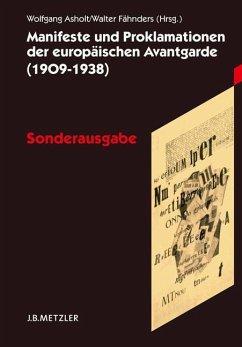 Manifeste und Proklamationen der europäischen Avantgarde (1909-1938)