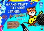 Kinderleicht Akkorde lernen, spielend leicht Noten lernen, mit mehr als 60 Kinderliedern, mit Internet Unterstützung, m. / Garantiert Gitarre lernen für Kinder Bd.1