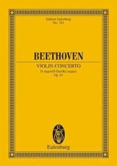 Violin Concerto, D major, op.61, PartiturViolinkonzert D-Dur op.61, Partitur