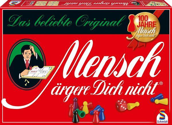 Schmidt 49021 - Mensch ärgere Dich nicht, Standardausgabe