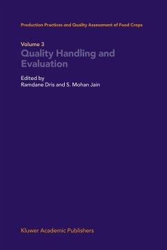 Quality Handling and Evaluation - Dris, Ramdane / Jain, Shri Mohan S.M. (Hgg.)