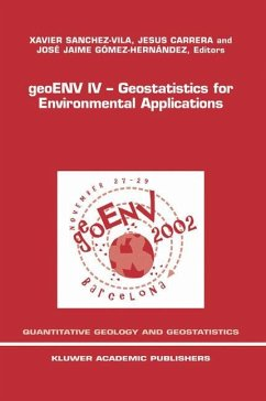 geoENV IV - Geostatistics for Environmental Applications - Sanchez-Vila