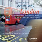 Spaziergang durch London, 1 Audio-CD