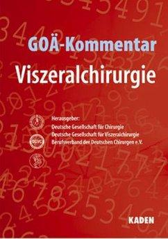 GOÄ-Kommentar Viszeralchirurgie