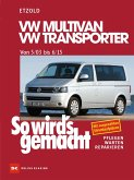 So wird's gemacht.VW Multivan- VW Transporter 5/03 - 6/15