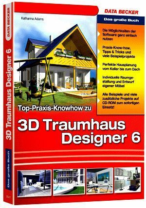 das gro e buch 3d traumhaus designer 6 von katharina adams buch. Black Bedroom Furniture Sets. Home Design Ideas