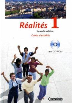 Réalités 1 - Carnet d'activités / Nouvelle édition mit CD-ROM - Bächle, Hans / Héloury, Michèle / Jorißen, Catherine