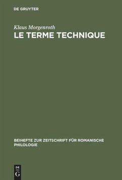 Le terme technique