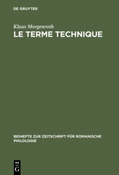 Le terme technique