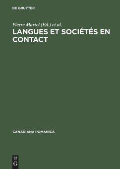 Langues et sociétés en contact