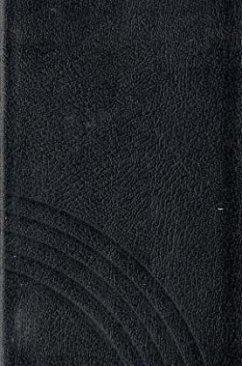 Evangelisches Gesangbuch, Ausgabe für fünf unierte Kirchen - Taschenformat, schwarz, Goldschnitt