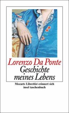 Geschichte meines Lebens - Da Ponte, Lorenzo