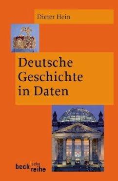 Deutsche Geschichte in Daten - Hein, Dieter