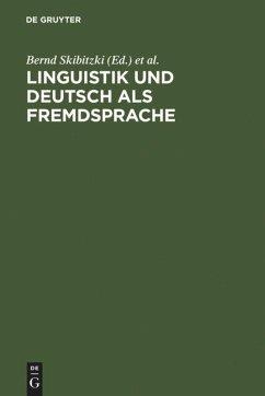 Linguistik und Deutsch als Fremdsprache